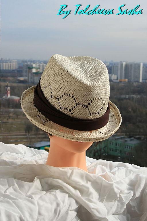 Шляпы ручной работы. Ярмарка Мастеров - ручная работа. Купить Жара . Летняя шляпа.. Handmade. Белый, большой размер головы, хлопок