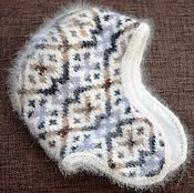 Аксессуары ручной работы. Ярмарка Мастеров - ручная работа Шапка собачий пух+альпака. Handmade.
