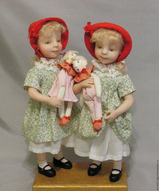 """Коллекционные куклы ручной работы. Ярмарка Мастеров - ручная работа. Купить Коллекционная кукла """"Красная шапочка... Две!!!"""". Handmade. Комбинированный"""