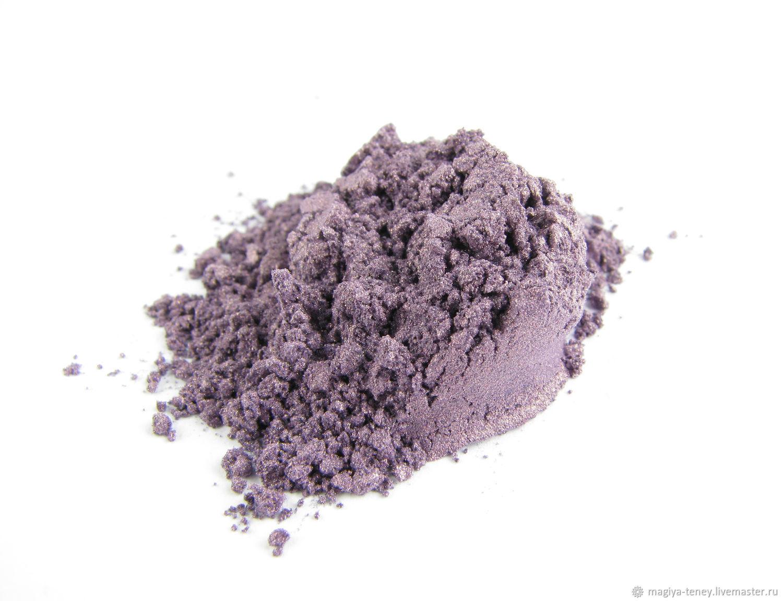 Mineral purple eye shadow 'iris', Shadows, Moscow,  Фото №1