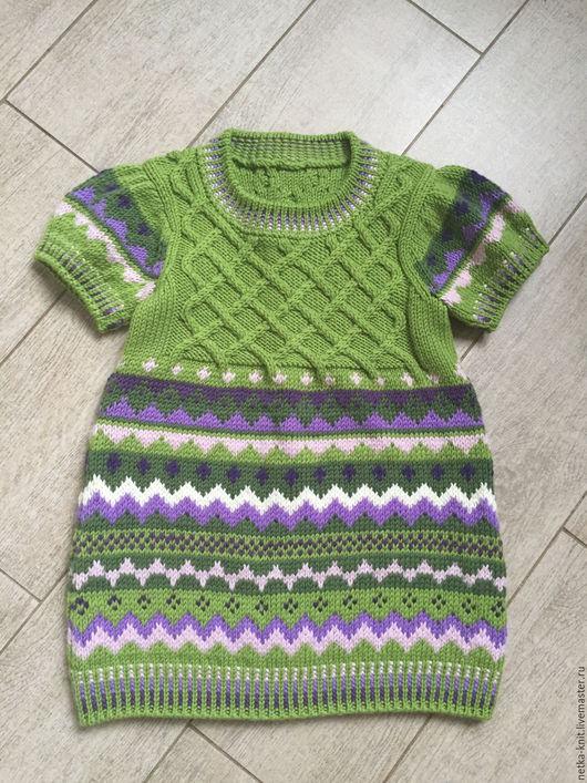 Одежда для девочек, ручной работы. Ярмарка Мастеров - ручная работа. Купить Платье для девочки. Handmade. Комбинированный, платье для девочки