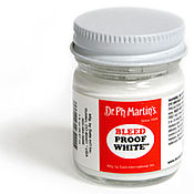 Материалы для творчества ручной работы. Ярмарка Мастеров - ручная работа Белая тушь Bleed Proof White. Handmade.