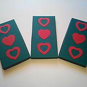 Сувениры и подарки handmade. Livemaster - original item Box with hearts. Handmade.