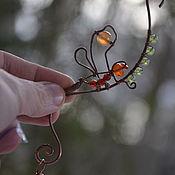 Фен-шуй и эзотерика handmade. Livemaster - original item Window decor, sun Catcher, Vastu correction-DragonFly-Dragonfly. Handmade.