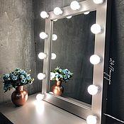 Для дома и интерьера handmade. Livemaster - original item Make-up mirror WOLF. Handmade.