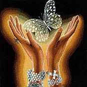 Картины и панно ручной работы. Ярмарка Мастеров - ручная работа Хрустальная бабочка. Handmade.