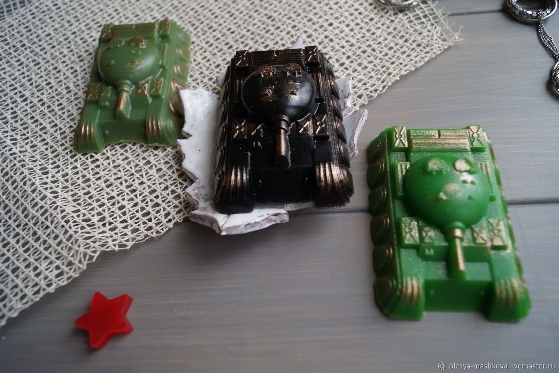 Jabón de un Tanque - el trabajo manual, Soap, Moscow,  Фото №1