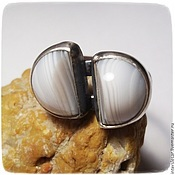 Украшения handmade. Livemaster - original item Ring with agate