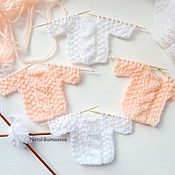Материалы для творчества handmade. Livemaster - original item Knitted mini Sweater decor for scrap. Handmade.