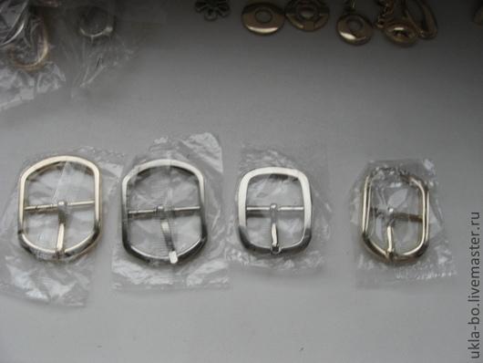 Шитье ручной работы. Ярмарка Мастеров - ручная работа. Купить Пряжки металлические. Handmade. Серый, металлическая фурнитура