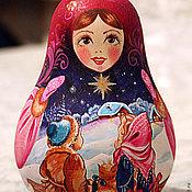 """Куклы и игрушки ручной работы. Ярмарка Мастеров - ручная работа Неваляшка """"Рождественская звезда"""". Handmade."""