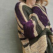 Одежда handmade. Livemaster - original item Cotton Sweater Long Oversize Sweater for Summer. Handmade.