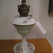 Для дома и интерьера ручной работы. Ярмарка Мастеров - ручная работа Декупаж, лампа керосиновая. Handmade.