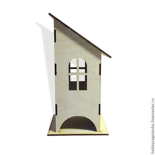 Декупаж и роспись ручной работы. Ярмарка Мастеров - ручная работа. Купить Чайный домик со скошенной крышей F-0072. Handmade.