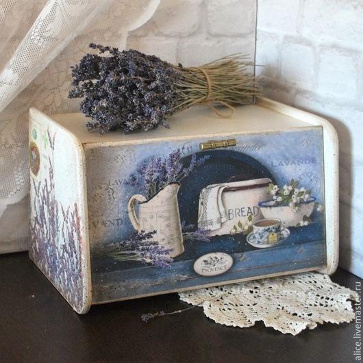 """Кухня ручной работы. Ярмарка Мастеров - ручная работа. Купить """"Лавандовый хлеб"""" хлебница. Handmade. Лаванда, натюрморт"""