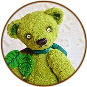 Куклы и игрушки ручной работы. Ярмарка Мастеров - ручная работа Зеленое Яблоко или Гренни Смит мишка Тедди. Handmade.