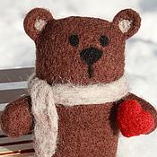 """Куклы и игрушки ручной работы. Ярмарка Мастеров - ручная работа Войлочная игрушка """"Медведь Рори"""". Handmade."""