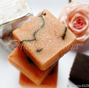 Косметика ручной работы. Ярмарка Мастеров - ручная работа Мыло с нуля Розовый Шоколад. Handmade.