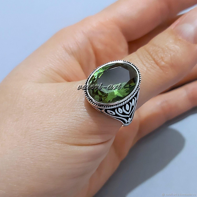 Кольцо, перстень с султанитом крупным, Перстень, Краснодар,  Фото №1