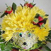 Цветы и флористика ручной работы. Ярмарка Мастеров - ручная работа Ежик. Handmade.