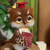 Куклы и игрушки ручной работы. Ярмарка Мастеров - ручная работа Совенок Винсент. Handmade.