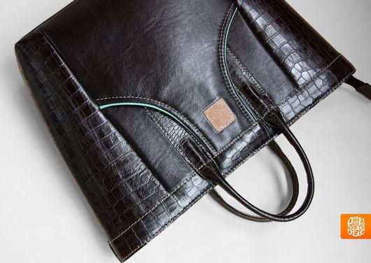 Вместительная сумка на каждый день. Сумка кожаная женская. Зимняя мода 2013. Кожаная сумка купить