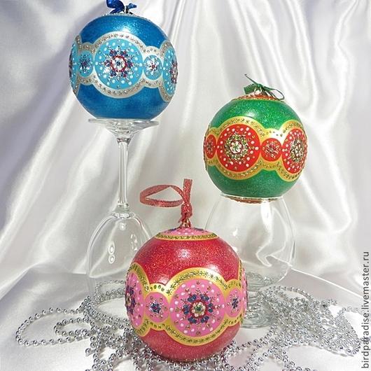 Новогодний ёлочный шар,ёлочное украшение,новогодний сувенир,подарок на новый год.