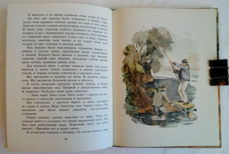 золотой к.г.паустовского литературе линь рассказах по детской о шпаргалка
