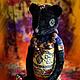 Мишки Тедди ручной работы. Африканская ночь. ArtMary. Интернет-магазин Ярмарка Мастеров. Африка, мишка тедди, мишка в подарок