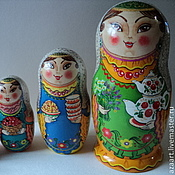 Русский стиль handmade. Livemaster - original item matryoshka tatar