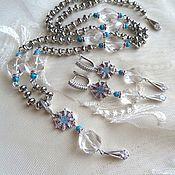 Украшения handmade. Livemaster - original item Necklace, earrings, pendant