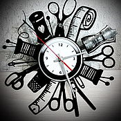 Для дома и интерьера handmade. Livemaster - original item Wall clock Atelier. Handmade.