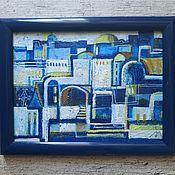 Картины и панно handmade. Livemaster - original item Pictures: Santorini. Handmade.