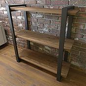 Для дома и интерьера handmade. Livemaster - original item Loft style shelving 100 cm x 100 cm.. Handmade.