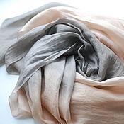 handmade. Livemaster - original item Scarf silk