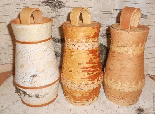 Посуда ручной работы. Ярмарка Мастеров - ручная работа. Купить Крынка из бересты. Handmade. Береста, натуральные материалы
