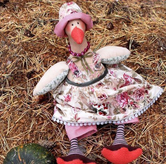 Куклы Тильды ручной работы. Ярмарка Мастеров - ручная работа. Купить Гусыня в стиле Прованс. Handmade. Интерьерная кукла, подарок