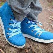 """Обувь ручной работы. Ярмарка Мастеров - ручная работа Ботинки валяные """"Peacock"""". Handmade."""