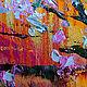 Пейзаж ручной работы. Цветение сакуры на горе Doi Suthep. ЯРКИЕ КАРТИНЫ Наталии Ширяевой. Интернет-магазин Ярмарка Мастеров.