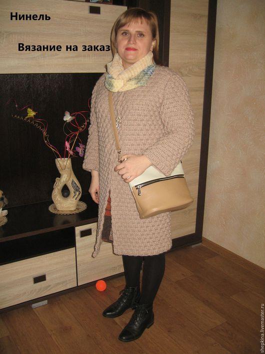 Пиджаки, жакеты ручной работы. Ярмарка Мастеров - ручная работа. Купить Кардиган/пальто вязаный крючком из шерсти. Handmade. Однотонный, крючком
