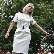 Одежда ручной работы. Ярмарка Мастеров - ручная работа Платье ПЛ-0010. Handmade.
