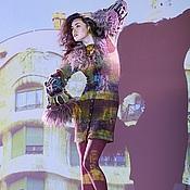 """Одежда ручной работы. Ярмарка Мастеров - ручная работа Платье-пальто """"Дома Гауди"""". Handmade."""