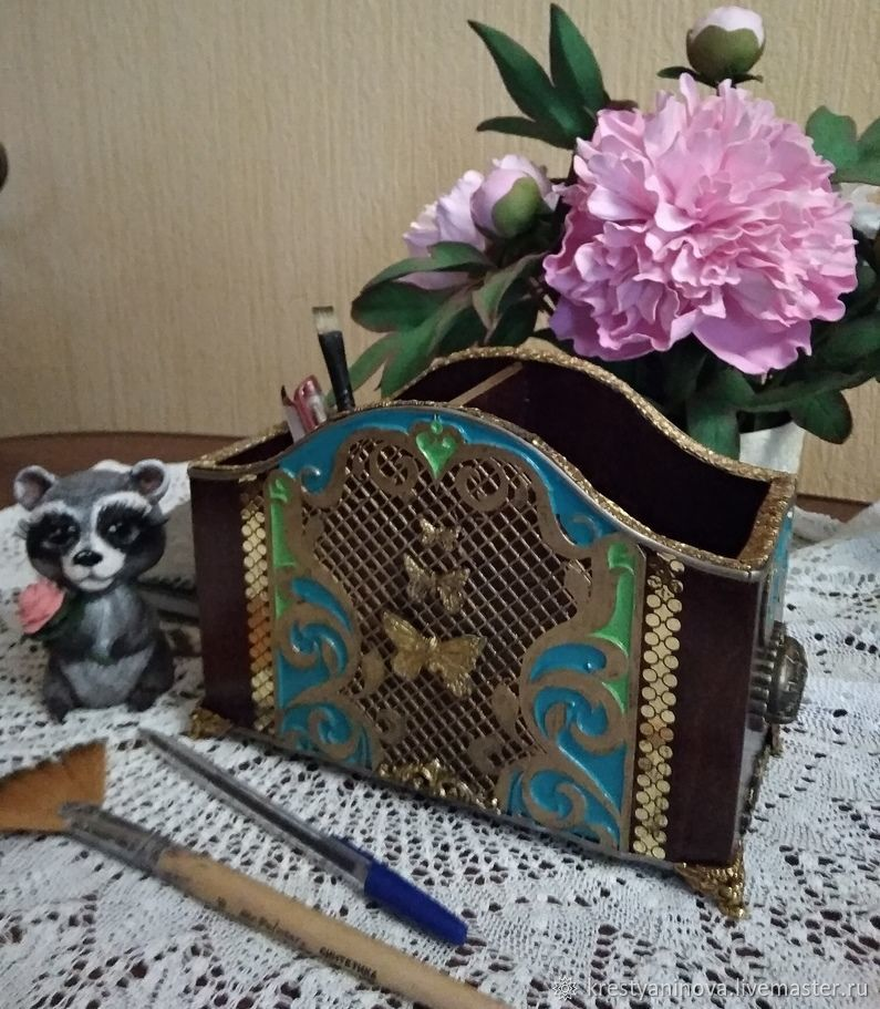 """Карандашница ,подставка """"Butterfly"""", Карандашницы, Тюмень, Фото №1"""