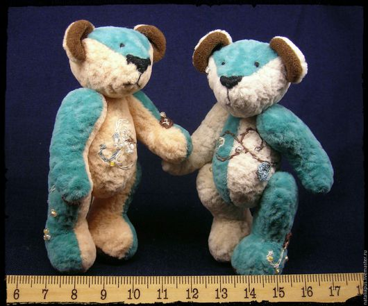 """Мишки Тедди ручной работы. Ярмарка Мастеров - ручная работа. Купить Мини teddy """"Бельгийский шоколад"""". Handmade. Мини мишки"""