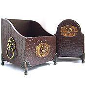 Для дома и интерьера handmade. Livemaster - original item Set for office the Chancellor Set for the office. Handmade.