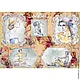 Декупаж и роспись ручной работы. Ярмарка Мастеров - ручная работа. Купить Девушки (CP01161) - рисовая бумага, А3. Handmade. Декупаж