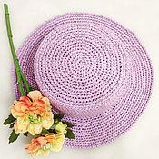 Аксессуары handmade. Livemaster - original item hats: Boater. Handmade.