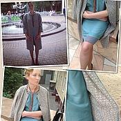 Одежда ручной работы. Ярмарка Мастеров - ручная работа Летнее пальто в стиле Шанель и платье в стиле 20-х. Handmade.