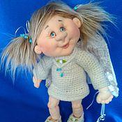"""Куклы и игрушки ручной работы. Ярмарка Мастеров - ручная работа Ангелочек """"Радостный Вестник"""". Handmade."""