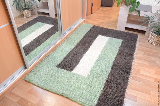 Текстиль, ковры ручной работы. Ярмарка Мастеров - ручная работа. Купить Коврик KB034B. Handmade. Ковер ручной работы, комбинированный